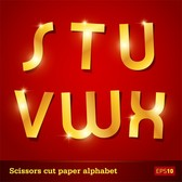 Glittering Letters Of The Alphabet 05