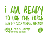 Green Party Meme Builder