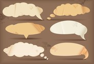 Dialogue Bubble Paper Vector 2