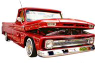 Lowrider Truck High-Res PSD
