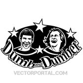DUMB AND DUMBER VECTOR ILLUSTRATION.eps