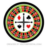 ROULETTE WHEEL VECTOR IMAGE.eps