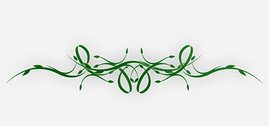 Vine Ribbon Leaves Nature Ribbon