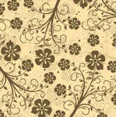 Decorative Floral Vector Pattern