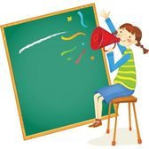 Blackboard School Start Vector Art