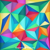 Triangle design abstract background