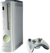 Xbox 360 With Controller PSD