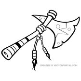 INDIAN AXE FREE VECTOR.eps