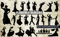 21 danseurs de flamenco