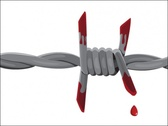 Bloody Barbed Wire