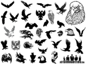 Eagle Vector clipart gratuit