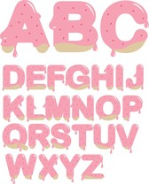Strawberry Jam Letters