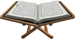 opened Quran PSD