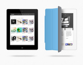 iPad Web Preview maqueta