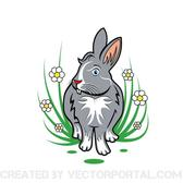 RABBIT VECTOR ILLUSTRATION.eps