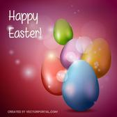 HAPPY EASTER PURPLE BACKGROUND.eps
