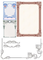 Classic European Security Border Pattern -01 Classic European-style Lace