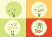 Free Vector Easter Backgrounds