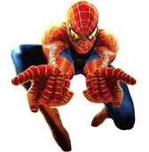 Realistic Spiderman 3 Graphic PSD