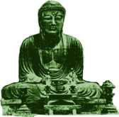 Big Green Buddha