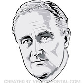 FRANKLIN D. ROOSVELT VECTOR PORTRAIT.eps