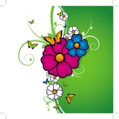 BACKGROUND WITH COLOR FLOWERS.eps