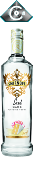 Smirnoff Iced Cake - Cut Out PSD