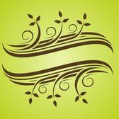 FLORAL SCROLL VECTOR GRAPHICS.eps