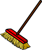 broom - coloured