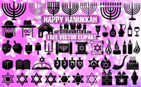 52 Vector happy Hanukkah