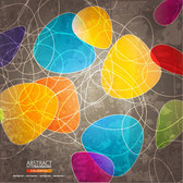Abstract Vector background Coloful