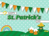 St Patrick's garlands