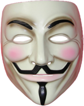 V for Vendetta Mask PSD