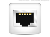 Computer network icon (PSD)