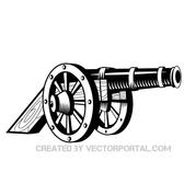 CANNON VECTOR ILLUSTRATION.eps