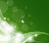 Abstract Green Shiny Wave Background