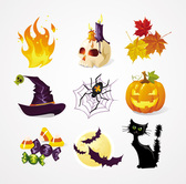Halloween Vector Icons (gratis)