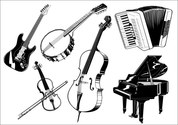 Music Category Vector Graphic (2)