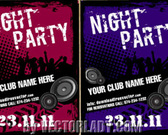 Vector Flyer For Party