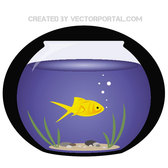 FISH AQUARIUM VECTOR.eps