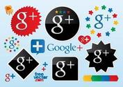 Google Plus Vector Logos