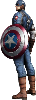 Captain America Super Soldier PSD