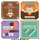 Valentine's Day Collection of Vintage Style Cards