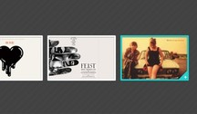 Cool Photo Gallery Image Hover PSD