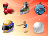 Sport activities free vector icons