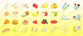 Cute Icon Vector Graphic Goods-1