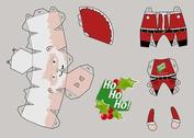 Santa carta Craft