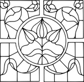 Stained Glass Motif