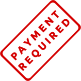 Payment Required Business Stamp 1