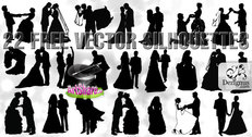 Free vector married couples